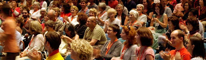 Audience at the Alexander Technique 9th International Congress 2011