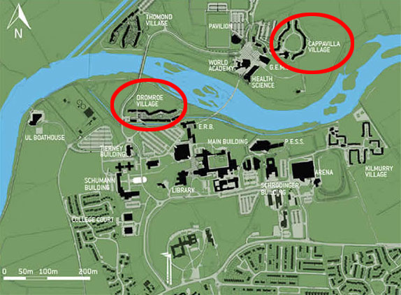 University of Limerick Campus Map